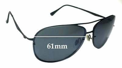SFx Replacement Sunglass Lenses fits Ray Ban Aviators RB8052 LightRay - 61mm acr