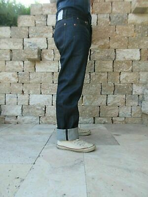 Quartermaster Denim Jeans 30er Jahre Style Rockabilly US Army Nose Art Slim Fit