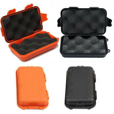Waterproof Storage Case Camping Outdoor Sports Hard Plastic Shockproof Box UK