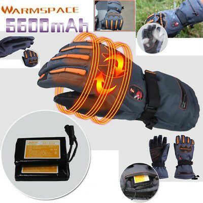 Smart Switch 5600mAh Rechargeable Battery Electric Heated Winter Warmer Gloves
