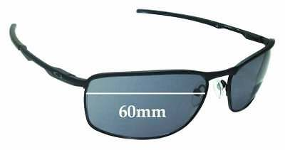 SFx Replacement Sunglass Lenses fits Oakley Conductor 8 OO4107 - 60mm Wide