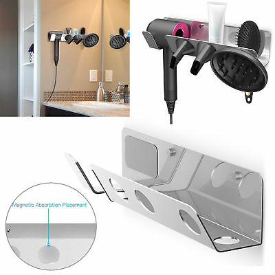 Magnetic Wall Mount Holder Hanger for Dyson Supersonic Hair Dryer Accessories US