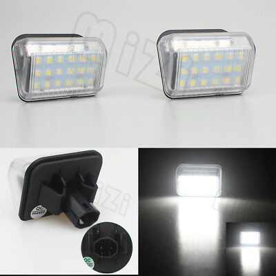 2x LED Licence Number Plate Light For Mazda 6 Atenza GG GY MPS CX-5 CX5 CX-7 CX7