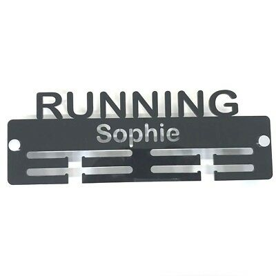 Includes all Fixings Personalised Swimming Medal Hanger Many Colour Choices