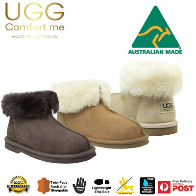 8facabf24acd WOMENS UGG SLIPPERS Boots Australian Hand Made Sheepskin Ladies Boot ...