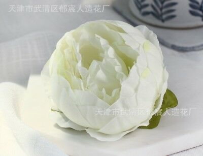 artificial peony head party cake flowers 12pcs