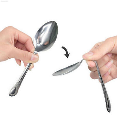 Mind Bending Spoon Gimmick Magic Trick Street Stage Show Easy Use Repeatedly
