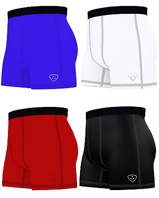 Mens Compression Boxer Shorts Baselayers Sports Briefs skin fit gym pants