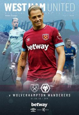 * 2018/19 - WEST HAM v WOLVES (1st September 2018) *