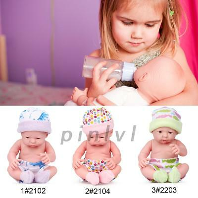 Newborn Baby Doll Gift Toy Soft Vinyl Silicone Lifelike Newborn Kids Toddler Toy