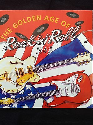 V/A: THE GOLDEN AGE OF ROCK'N'ROLL  1963  3CD set  72 great hits & 20pp booklet