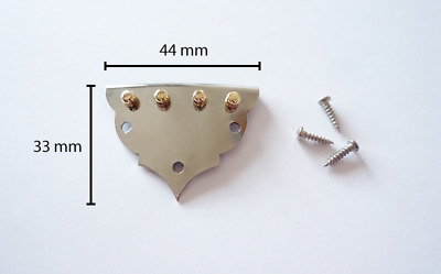 Tailpiece for mandolin with screws