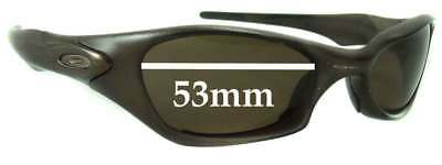 SFx Replacement Sunglass Lenses fits Oakley Valve - 53mm wide