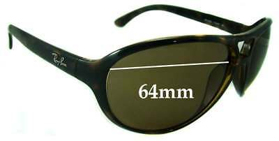 SFx Replacement Sunglass Lenses fits Ray Ban RB4090 - 64mm wide