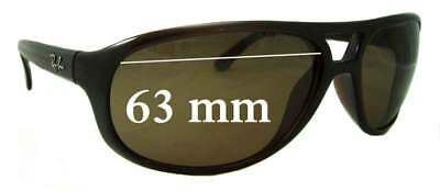 SFx Replacement Sunglass Lenses fits Ray Ban RB4124 - 63mm wide