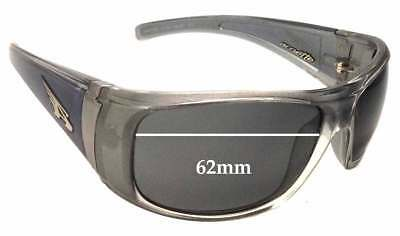 SFX Replacement Sunglass Lenses fits Arnette Catfish Model AN222 62mm Wide