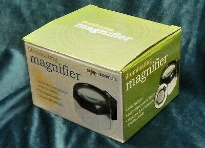 Desktop Battery Powered 5X Illuminating Magnifier by Star Innovations