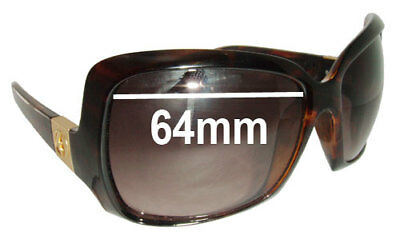 32fdb4ca0b SFX REPLACEMENT SUNGLASS Lenses fits Electric BSG Bam - 64mm Wide ...