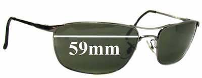 a41130a446fe9 SFX REPLACEMENT SUNGLASS Lenses fits Ray Ban RB3339 - 59mm Wide ...