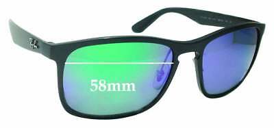 SFx Replacement Sunglass Lenses fits Ray Ban RB4264 Chromance - 58mm wide