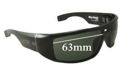 3803cac8f5bbd SFX REPLACEMENT SUNGLASS Lenses fits Otis Blunt - 63mm Wide -  27.54 ...