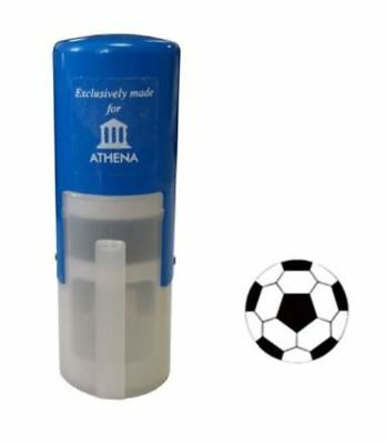 Football 11mm loyalty reward stamp - High Quality COLOP stamp