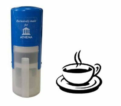 Coffee Cup 11mm Loyalty Reward Stamp - High Quality COLOP Stamp