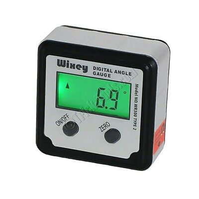 Wixey WR300 T2 Type 2 Digital Angle Finder Gauge Level