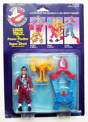 1984 Original Kenner Real Ghostbusters Louis Tully Vapor Ghost Figure Sealed ?
