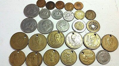 Vintage Mixed Foreign Coins  Lot