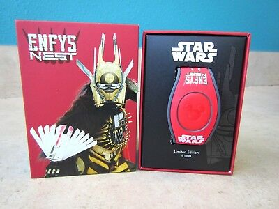 New 2018 Disney Parks Magic Band Star Wars Enfys Nest Le 5000 Limited Edition !!