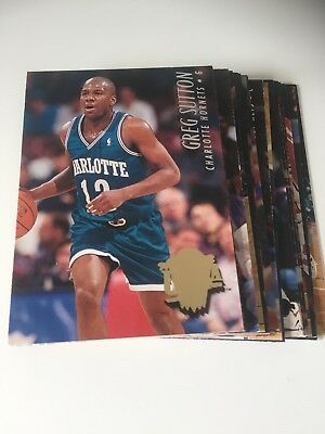LOT 17 CARTES DE BASKET NBA Fleer Ultra Série 2 1994-1995  - Regular - No Double