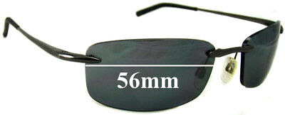 SFx Replacement Sunglass Lenses fits Bolle Meltdown - 56mm wide