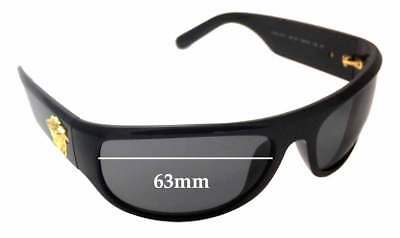 4cebdf0c8a1 SFX REPLACEMENT SUNGLASS Lenses fits Versace MOD 4276 - 63mm Wide ...