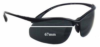 f24377c0f131 SFx Replacement Sunglass Lenses fits Bolle Swiftkick 10438 - 67mm wide