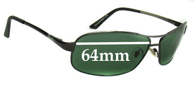 cc0b60f68da SFx Replacement Sunglass Lenses fits Ray Ban RB3323A and RB3323 - 64mm Wide