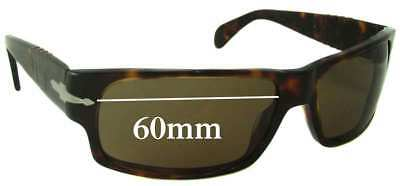 SFx Replacement Sunglass Lenses fits Persol 2720 - 60mm wide