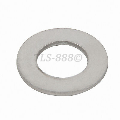 M2 to M24 Flat Washers To Fit Metric Bolts & Screws - A4 316 Stainless Steel