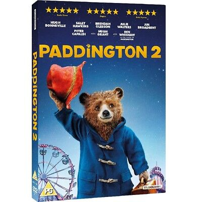 Paddington 2 DVD 2018 Brand New Sealed FREE FAST Delivery