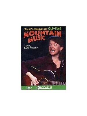 Cary Fridley Vocal Techniques For Old-Time Mountain Music Learn Play Voice DVD