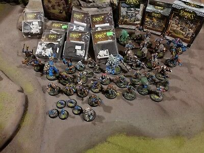 Warmachine and Hordes Trollblood Army
