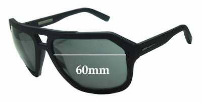 SFx Replacement Sunglass Lenses fits Dolce & Gabbana DG2146 - 60mm Wide