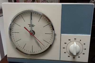 Diehl Electro clock and timer-ceramic-made in Germany. 983/095.