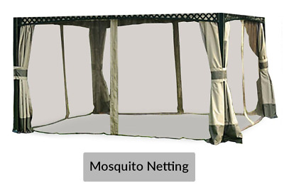 Sunjoy L-GZ717PST-C Mosquito Netting Replacement for store Big Lots