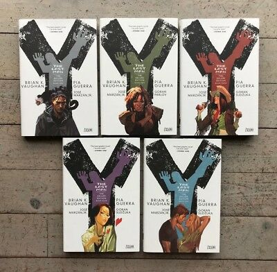 Y The Last Man Deluxe Edition 1-5 2 3 4 Complete Set Hardback