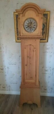 Old Danish Striking 8 Day Longcase Clock