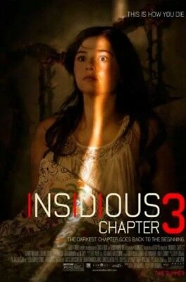 INSIDIOUS CHAPTER 3 Authentic 27x40 D/S Movie Poster