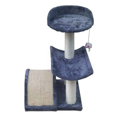 60cm Cat Scratching Post Tree Gym House Scratcher Pole Furniture Bed Toy Small