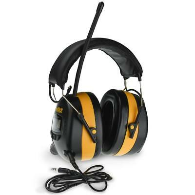 DEWALT Radio AM/FM Digital Tune Electronic Ear Muff Headset Radio