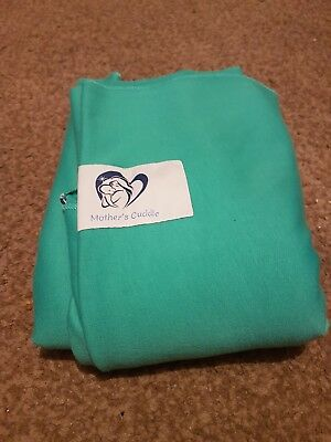 0bd2ee93b9c MOTHERS CUDDLE BABY sling   carrier wrap turquoise used once - £1.50 ...